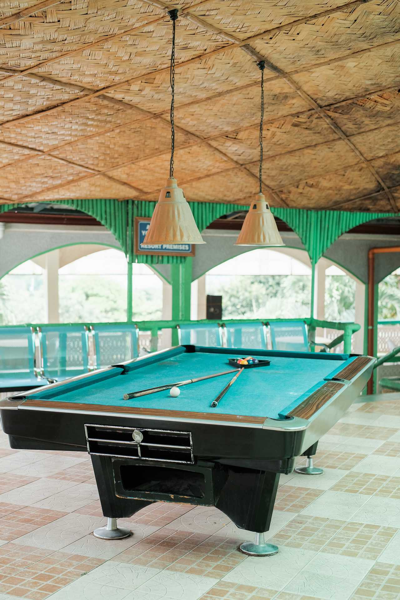 Billiard Hall with table tennis